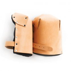 Crain leather knee pads